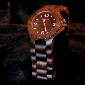 NWOT MEN/UNISEX Wooden Watch